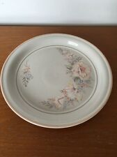 1 Denby Tivoli 8.5 Inch Salad Starter Plate. Floral Stoneware Coloroll NEW