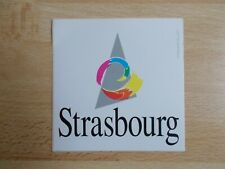 Autocollant STRASBOURG