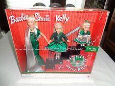 Singing Holiday Sisters Barbie Kelly Stacie Gift Set