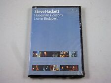*  STEVE HACKET HUNGARIAN HORIZONS- LIVE IN BUDAPEST EUROPE  DVD  sealed
