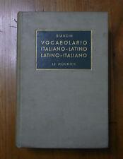Vocabolario di latino Bianchi