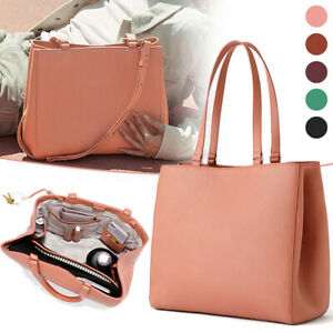 UK Women's Leather Handbag Ladies Shopping Crossbody Shoulder Bag Travel Tote