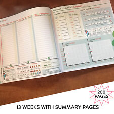 Food Diary Slimming World Compatible Weight Loss Tracker Journal All Diets