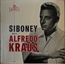 ALFREDO KRAUS (Tenor): Siboney-1960LP