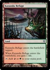 FOIL Rifugio di Kazandu - Refuge MTG MAGIC Zen Ita