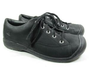 Keen Bidwell Oxford Men size 11.5 Black Leather