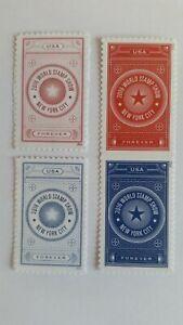 2016 World Stamp Show  #5010/5062 MNH