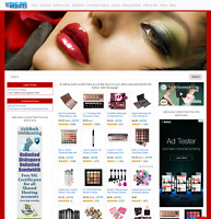 Amazon Affiliate Ready Made Website Makeup Accessories Automated Store