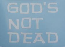 Religious God Alive Oracal Vinyl Decal Sticker