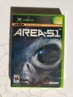 Area 51 Microsoft Xbox Brand New Factory Sealed Free Fast Shipping
