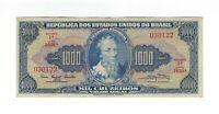 1000 Cruzeiros Brasilien 1961 C054 / P.173a - Brazil Banknote