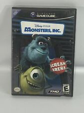 Monsters, Inc. Scream Arena Nintendo GameCube, 2002 Disney Pixar Games COMPLETE