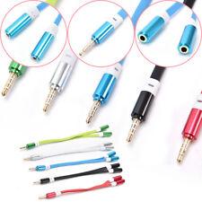 auricular de 3,5mm auriculares de audio jack de cable 1 macho a 2female Splitter