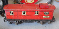 Vintage 1930s O Scale Lionel 1682 Tin Litho Caboose Car