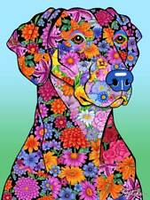 Flowers Garden Flag - Doberman Pinscher 960151