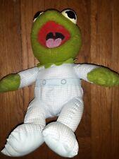 "Original 1984 Vintage Kermit The Frog Muppet Babies Baby Pampers 11"" Plush Doll"