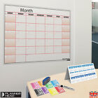 Laminated Monthly Planner Wall Chart Month Planner ?Any Month,Any Year!+Gift ?UK