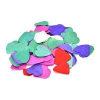 1000 Pcs Colorful Love Heart Biodegradable Confetti Table Wedding Party Decor BD