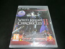 WHITE KNIGHT CHRONICLES II 2  SONY PLAYSTATION 3 PS3 NEW AND SEALED