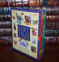 Fairy Tales Poems by Grimm Andersen Keats Carroll  Sealed Hardcover Box Set