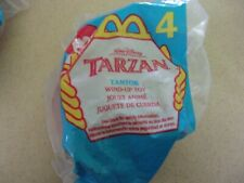 McDonalds Happy Meal Tarzan #4  Tantor 1999 wind up toy New Sealed Package