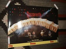NAZARETH Sound Elixer Original 1983 Promo Poster - Free S&H