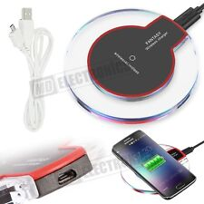 Wireless iPhone Charger Charging Pad Qi With Receiver For iPhone Samsung Galaxy