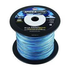 NEW Spiderwire Stealth Braid Braided Line 20lb 1500yd Blue Camo SS20BC-1500