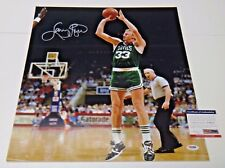 Larry Bird Boston Celtics Basketball HOF Signed 16x20 Photo PSA COA