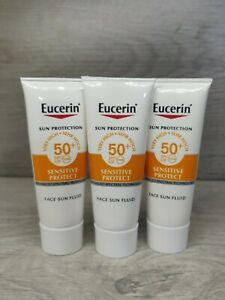 Eucerin Sensitive Protect Mattifying Sun Protection Fluid SPF50 3x7ml Travel Siz