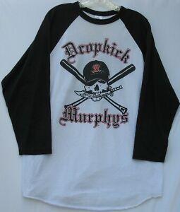 Augusta 3/4 sleeve 50/50 cotton/poly Dropkick Murphys T-shirt adult size XL