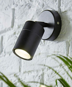 CGC Black Adjustable Spotlight Wall Light Spot Down Up Modern Single Ceiling