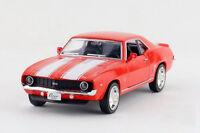 Kinsmart 1:36 Scale 1969 CHEVROLET Camero SS Diecast model Car Pullback Red 1/36
