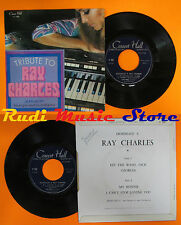 LP 45 7'' JEAN MUSY Tribute Hommage to ray charles france CONCERT HALL cd mc dvd