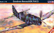 CAUDRON CR 714 C1 ILMAVOIMAT (FINNISH, POLISH, VICHY & GERMAN) 1/72 MASTERCRAFT