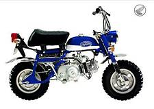 HONDA Poster Classic Z50A Z50 Mini Monkey Bike Suitable to Frame BLUE #2