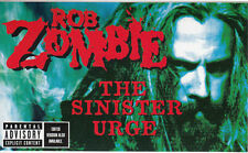 Rob Zombie The Sinister Urge RARE promo sticker '01
