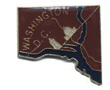 Hat Lapel Push Pin Tie Tac City State Washington D C NEW