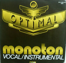 "7"" RAREST NDW 1983 ! OPTIMAL : Monoton // MINT.\"