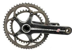 Campagnolo Record 11 Speed Ultra Torque Carbon Road Bike Crankset 172.5mm 53/39