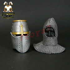 ACI Toys 1/6 24B Templar Knight Sub-field Marshal_ Helmet + faked head _AT080J