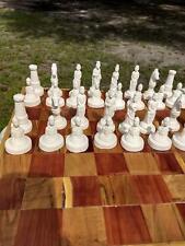 Chess Set ready to pant.