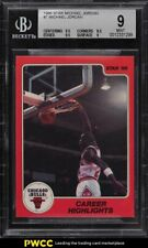 1986 Star MJ Michael Jordan ROOKIE RC #7 BGS 9 MINT