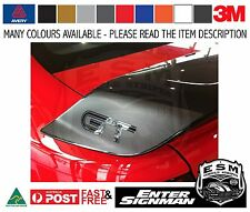 FG FORD GT R-SPEC STYLE WING END DECALS - Avery Supreme Wrap Vinyl