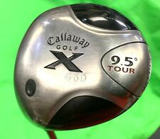 CALLAWAY X 460 TOUR DRIVER 9.5 DEGREE LEFT HANDED GOLF CLUB- 24 HOUR DELIVERY!