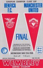 Away Teams A-B European Cup Benfica Football Programmes