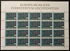 Francobollo LIECHTENSTEIN Stamp - Yvert e Tellier n°507 x20 (En Feuillet) n (Y5)