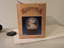 Krystonia Musical Snow Globes Rare 1988 Panton