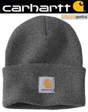 Cappello Berretto Carhartt Acrylic Watch hat - A18-clh Col. Grigio scuro