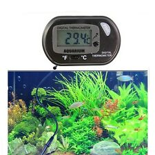 Digital LCD Tank Aquarium Marine Water Terrarium Thermometer Temperature new UK